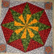 Pieces of the Past - Block 6 - Christmas Star